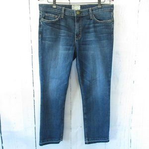 Current Elliott Jeans The Cropped Straight Loved